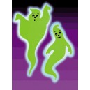 Giant Glow Ghosts